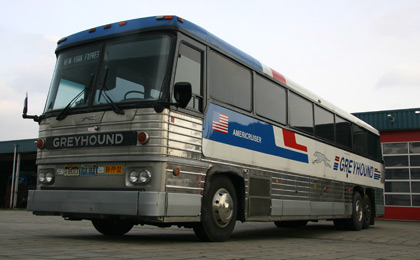 Amerikaanse Greyhound Bus